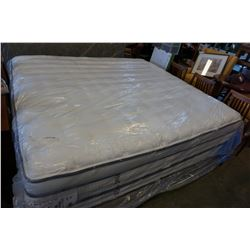 KING SIZE BEAUTY REST IMPERIAL WHITE LABEL NIVANNA MATTRESS