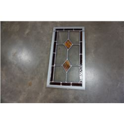 LEADED GLASS PANEL