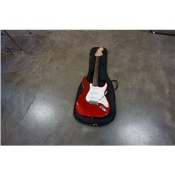 FENDER SQUIRE STRAT ELECTRIC GUITAR IN BAG