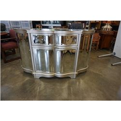 BEVELLED MIRRORED ENTRANCE CABINET