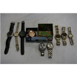 LOT OF WATCHES INCLUDING MICHAEL KORS TAG HEUER, GT, AND MORE