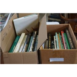 2 BOXES OF COFFEE TABLE BOOKS