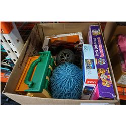BOX OF KIDS TOYS SOME VINTAGE & COLLECTABLES