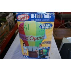 AS NEW HOT AIR BALOON INFLATABLE