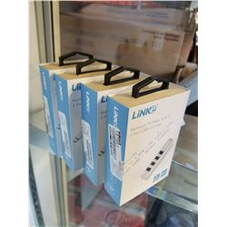 LOT OF 4 NEW LINK TYPE-C USB PORT HUBS - RETAIL $29EACH