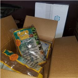 7 BAGS OF NEW COCO SOFT REPTILE FIBER BEDDING - RETAIL $160