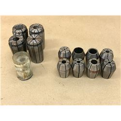 LOT OF MISC. COLLET *SEE PICS FOR PART #*