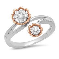 14k Gold 2.36CTW Diamond Earrings, (VS/SI1-SI2)