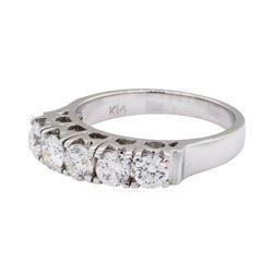 1.19 ctw Diamond Ring - 14KT White Gold