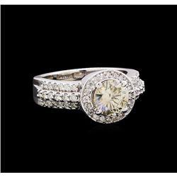 2.25 ctw Diamond Ring - 14KT White Gold