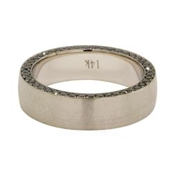0.58 ctw Diamond Ring - 14KT White Gold