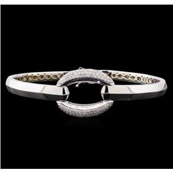 1.09 ctw Diamond Bracelet - 14KT White Gold