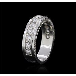 18KT White Gold 0.94 ctw Diamond Ring