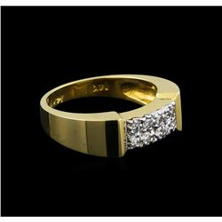 0.53 ctw Diamond Ring - 14KT Yellow Gold