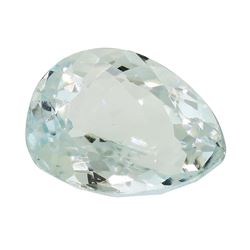 5.26 ct. Natural Pear Cut Aquamarine