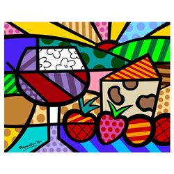 Toast To Life by Britto, Romero