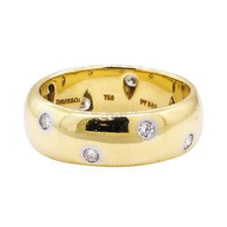0.48 ctw Diamond Ring - Platinum and 18KT Yellow Gold