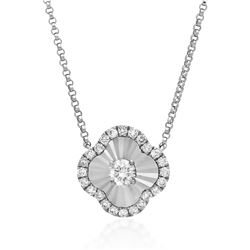 18k Gold 0.13CTW Diamond Necklace, (SI2/H)