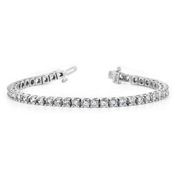 10k White Gold 2.48CTW Diamond Bracelet, (SI2/H-I)