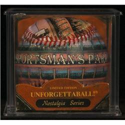 "Unforgettaball! ""Sportsman's Park"" Nostalgia Series Collectable Baseball"