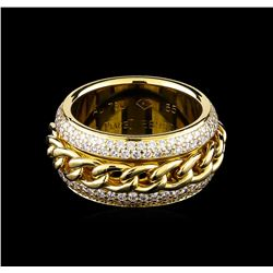 1.25 ctw Diamond Ring - 18KT Yellow Gold