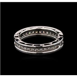 0.55 ctw Diamond Ring - 18KT White Gold