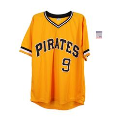 Pittsburgh Pirates Bill Mazeroski Autographed Jersey