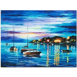 Out All Night by Afremov, Leonid