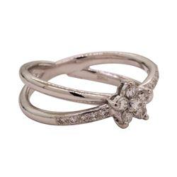 0.30 ctw Diamond Ring - Platinum