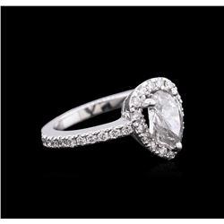 1.51 ctw Diamond Ring - 14KT White Gold