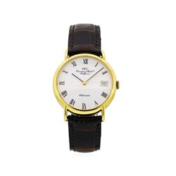 Iwc 18KT Yellow Gold Portofino Watch