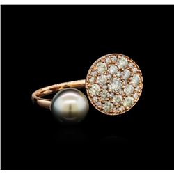2.29 ctw Diamond Ring - 14KT Rose Gold
