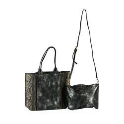 Black Selena Oversized Handbag