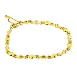 24KT Yellow Gold Bracelet
