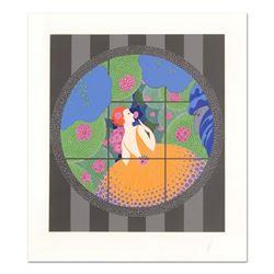 Winter Flowers by Erte (1892-1990)