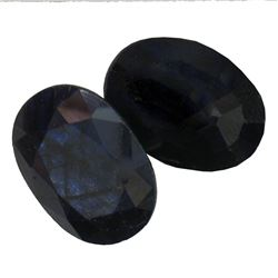 10.73 ctw Oval Mixed Blue Sapphire Parcel