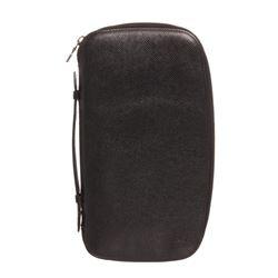 Louis Vuitton BlackTaiga Leather Geode Organizer Wallet Clutch