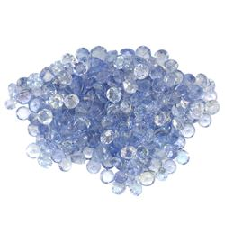 16.03 ctw Round Mixed Tanzanite Parcel