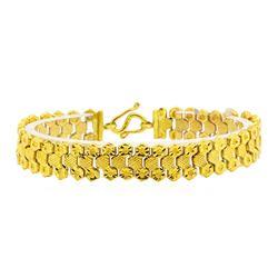 24KT Yellow Gold Bracelet