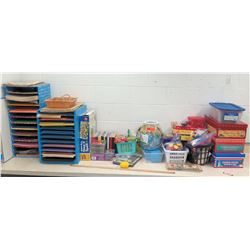 Misc Multiple Paper Sorters, Childs DVDs, Toys, etc