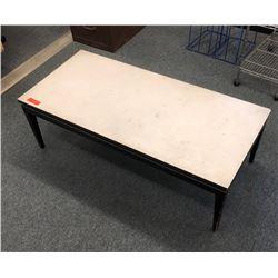 Wood Base Coffee Table