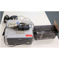 Brother Laser Printer, Excalibur Cartridge, Cords