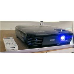 Epson Projector & Remote (Cords & Stand Not Included)