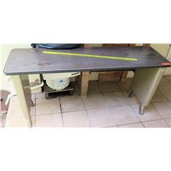 Long Metal Table
