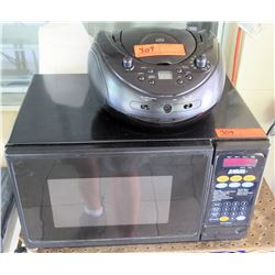 Micro Fridge Brand Microwave & CD Player