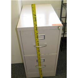 Vertical 2 Drawer File Cabinet