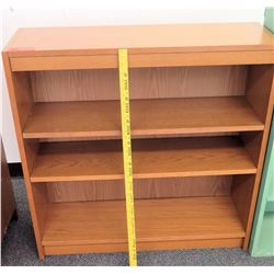 Wooden 3 Tier Shelving Unit