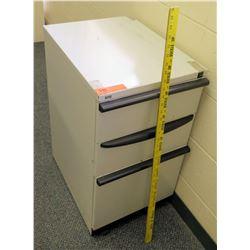 Vertical Short 3 Drawer File Cabinet