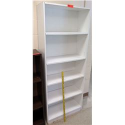 White Wood 5 Tier Shelf