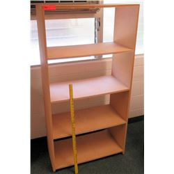 Wooden 4 Tier Shelf Unit